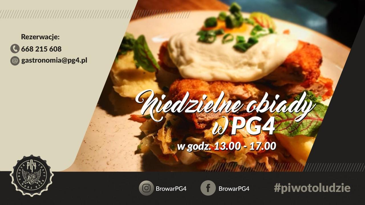 Niedzielne obiady w PG4
